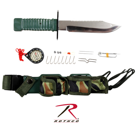 Rothco Special Forces Survival Knife Kit