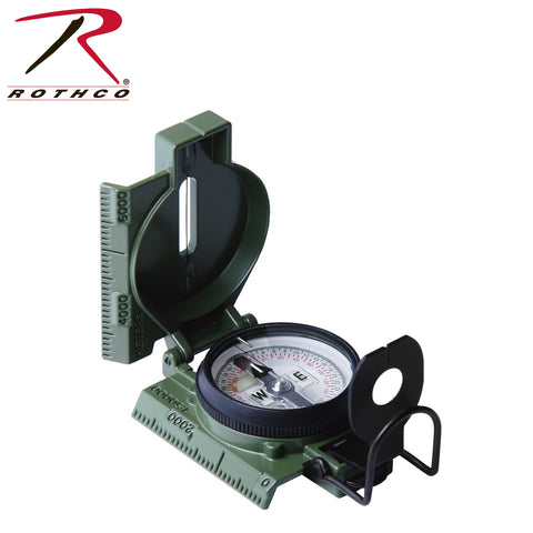 Cammenga G.I. Military Phosphorescent Lensatic Compass