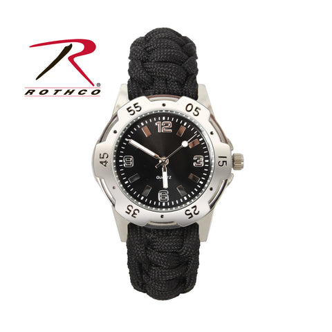 Rothco Paracord Bracelet Military Watch