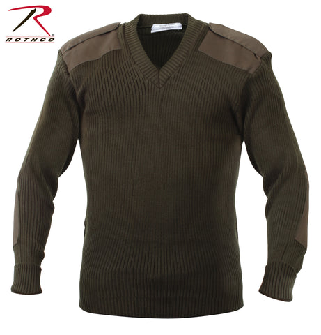 Rothco G.I. Style Acrylic V-Neck Commando Sweater
