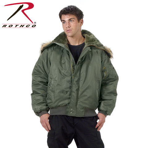 Rothco N-2B Flight Jacket with Hood