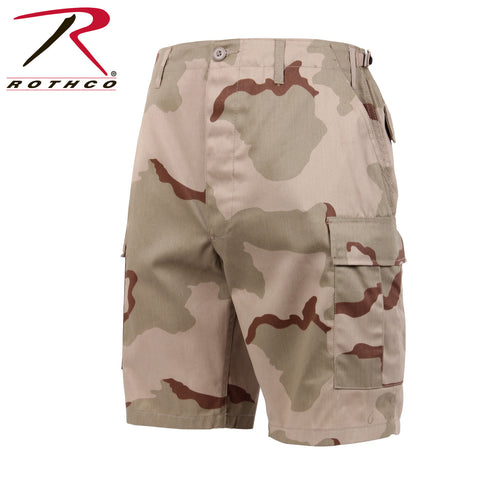 Rothco Military Camo BDU Shorts