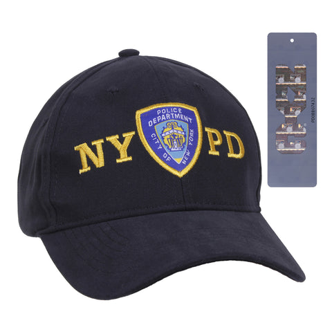 Officially Licensed NYPD New York's Finest Adjustable Cap With Emblem