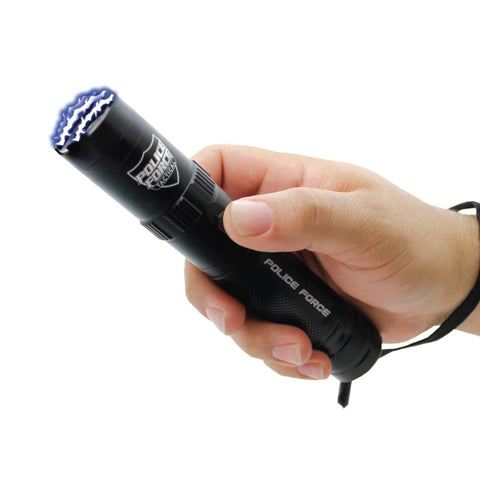 Police Force 9,200,000 V Tactical Flashlight Stun Gun