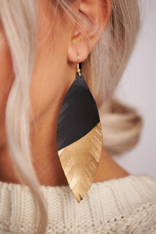 Miriam Feathered Earrings