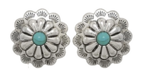 Fresno Concho Earrings