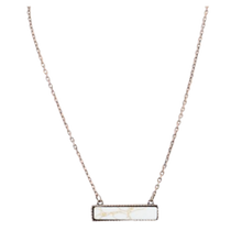 Load image into Gallery viewer, Olivia Bar Necklace