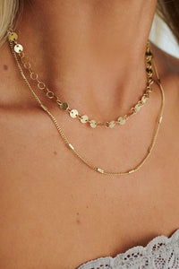 Athaliah Gold Layered Necklace