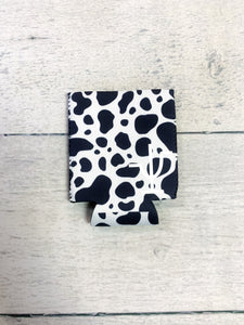 Cow Print Can & Bottle Koozie