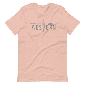 It's About To Get Western T-Shirt
