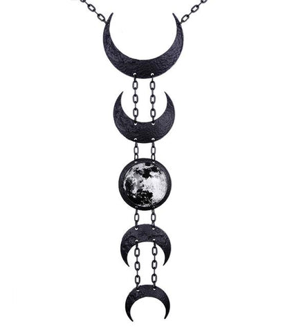Lunar Necklace (Black)