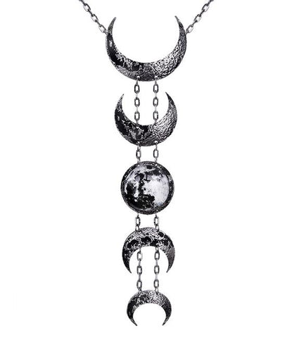 Lunar Necklace (Silver)