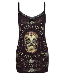 Day of the Dead Ouija Cami