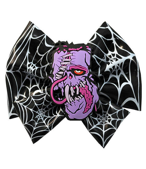 Toxic Toons Hairbow (Purple Zombie)
