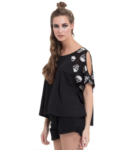 Skull Sleeve T-Shirt