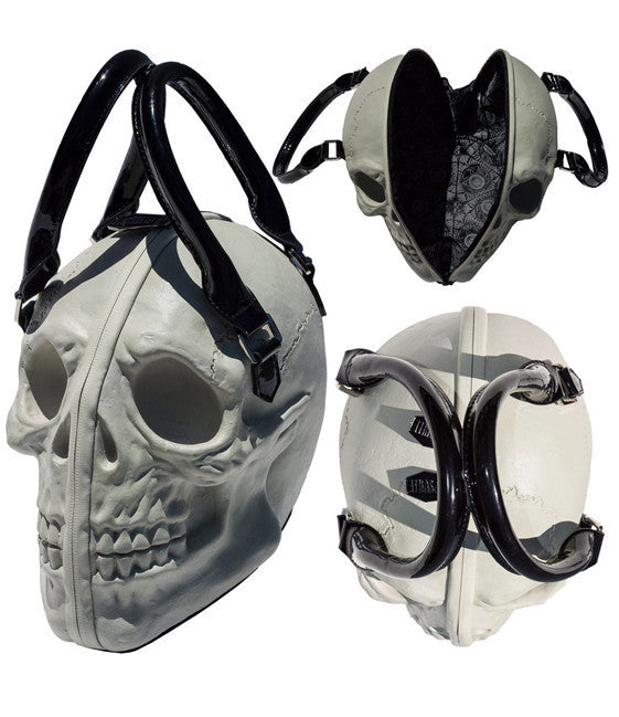 Skull Collection Hand Bag (Glow/Grey)
