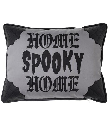 Canvas Spooky Home Pillow