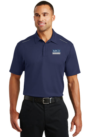 Men's  Port Authority® Pinpoint Mesh Polo