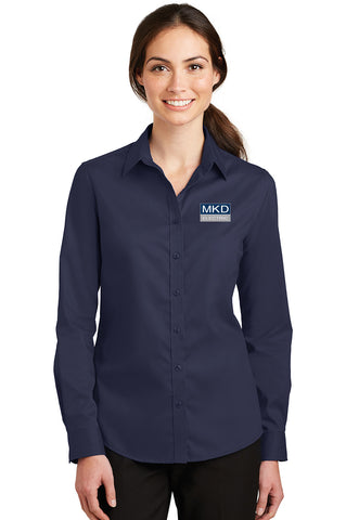 Ladies  Port Authority® Ladies SuperPro™ Twill Shirt