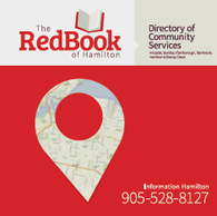 The Red Book of Hamilton Directory of Community Services (2017/2018 edition)