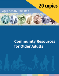 The cover of the Community Resources for Older Adults guide