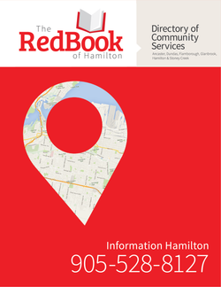 The Red Book of Hamilton Directory of Community Services (2018/2019 edition)