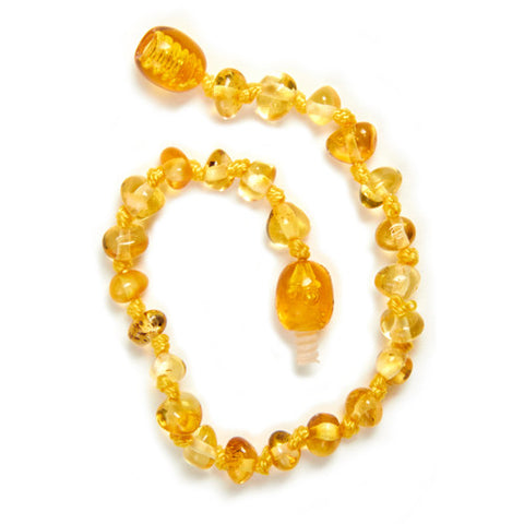 Lemon Amber Anklet / Bracelet / Necklace