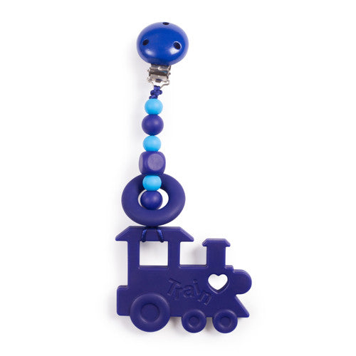 Clippable Train Teething Toy