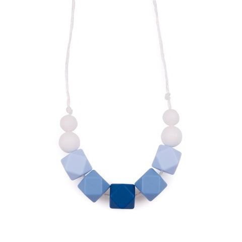 Hexagon & Round Teething Necklaces