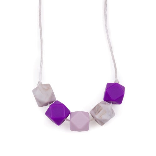 Hexagon Teething Necklaces