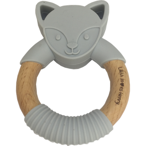 Fox Teething Ring
