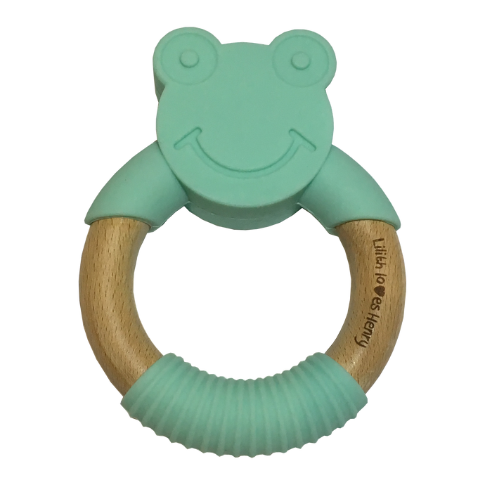 Frog Teething Ring