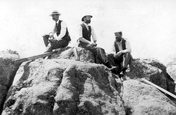 Henry Gannett With Hayden Expedition