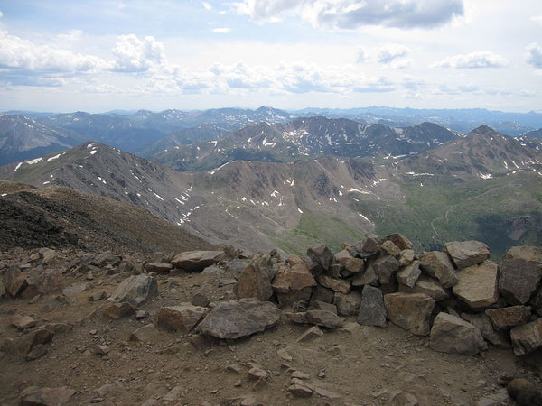 View from Summit of Mount Elbert