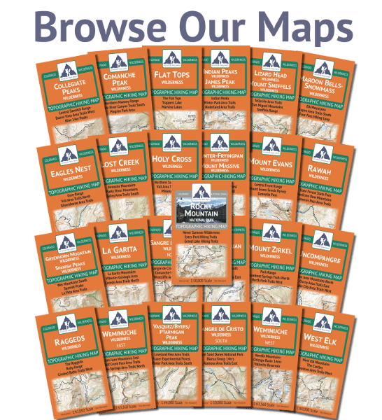 Browse the Wilderness Series Maps by Outdoor Trail Maps LLC
