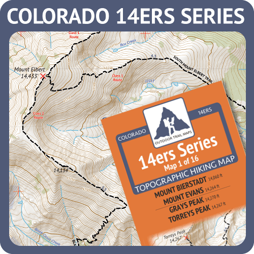 Colorado 14ers Maps