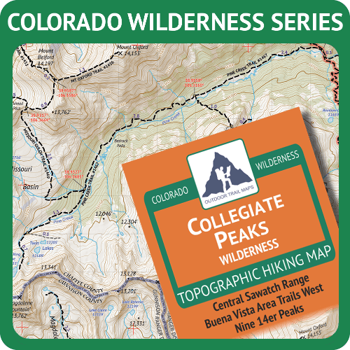 Colorado Wilderness Map Series