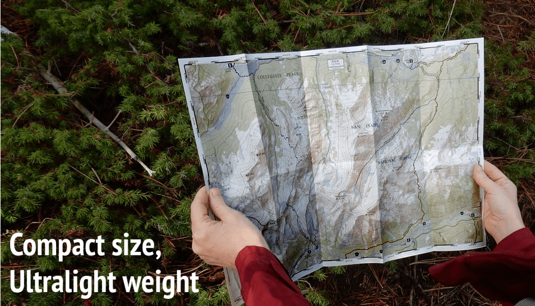 Compact Topographic 14ers Maps