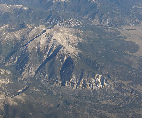 Mount Princeton from the air