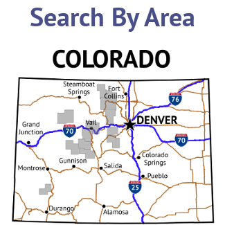 Search Colorado Wilderness Maps By Area
