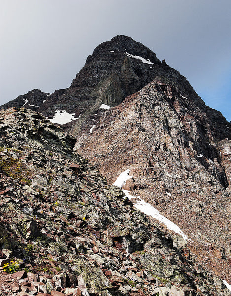Summit of Pyramid Peak from Route
