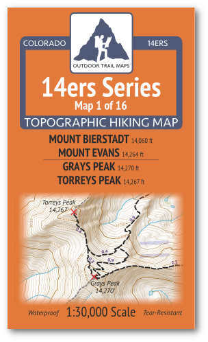 14ers Series Maps