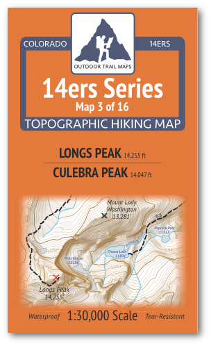 14ers Map 3 of 16 Cover