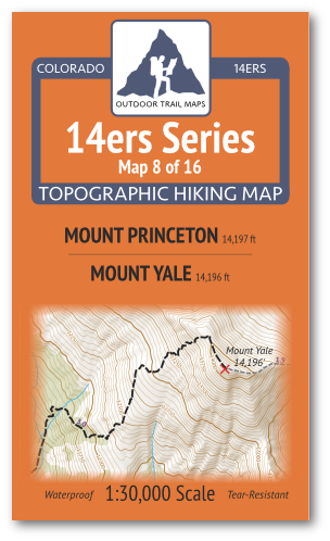 14ers Map 8 of 16 Cover