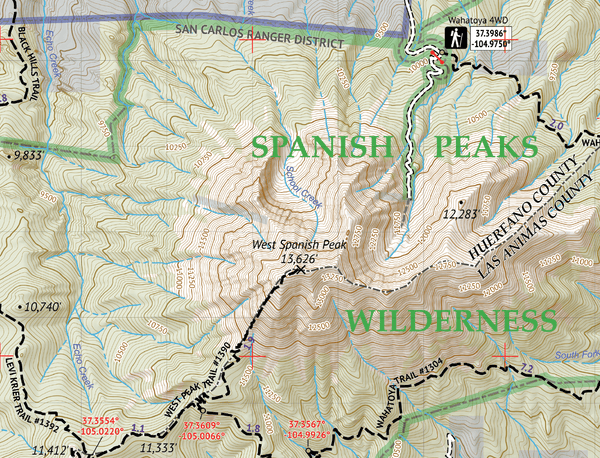 Spanish Peaks Wilderness