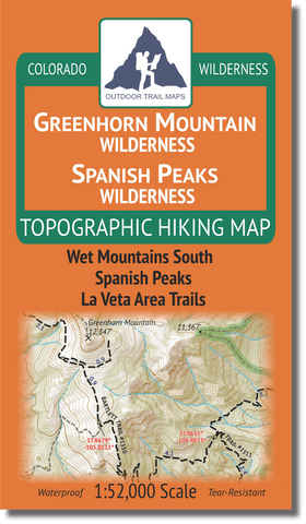 Greenhorn Mountain Spanish Peaks Wilderness Cover