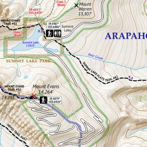 14ers Map 1 of 16 Crop