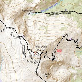 14ers Map 2 of 16 Crop