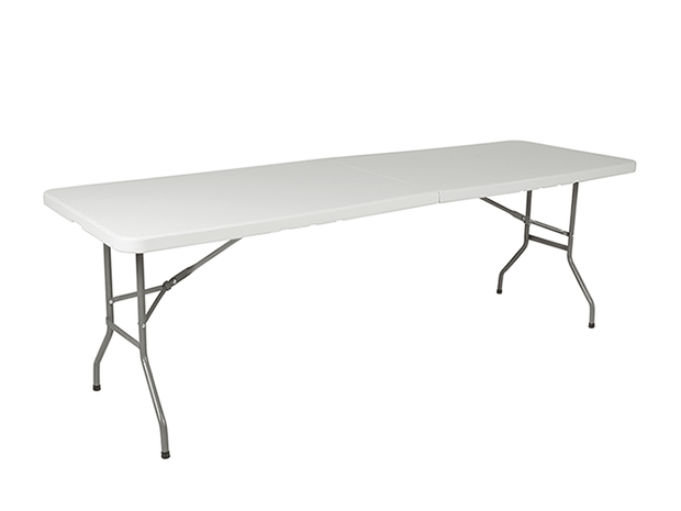 Folding Table 8' with Carry Handle