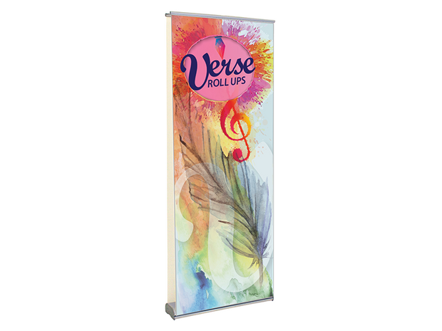 Verse-2 Rollup 31x83 Banner Stand – Double Sided